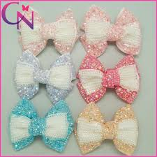 hair bows wholesale 12pcs lot boutique rhinestones hair bows with baby