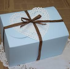 wedding cake gift boxes free shipping 10pcs lot skyblue paper cake packaging box beautiful