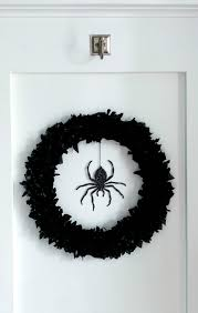 spider wreath from martha stewart crafts