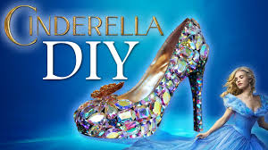 diy cinderella glass slipper youtube