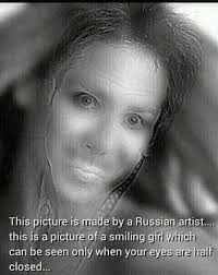 Smile Girl Meme - dopl3r com memes this picture is made by a russian artist