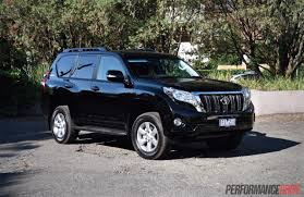 toyota jeep black 2016 toyota landcruiser prado 2 8 review video performancedrive