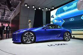 lexus lc in blue geneva 2016 lexus lc 500h gtspirit