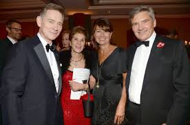 michael middleton updated carole and mike middleton attend red cross charity dinner