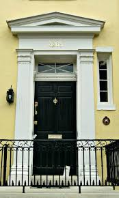 Exterior Door Pediment And Pilasters Front Door Pediments A Classical Pediment And Pilasters Runs The