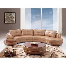 Leather Couch Designs Furniture Cool Leather Sectional Couch Design With Round Table