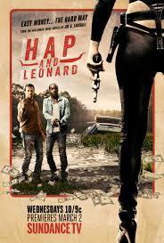 hap poster u0027hap and leonard u0027 u2014 james purefoy christina hendricks