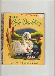 vintage little golden book the ugly duckling children