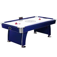 hockey time air hockey table amazon com hathaway phantom 7 5 foot air hockey game table for