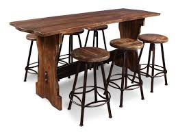 counter height bar table laurel foundry modern farmhouse connery 7 piece counter height pub