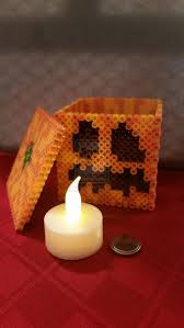 Halloween Perler Bead Templates by 346 Best Perler Bead Halloween And Fall Images On Pinterest Fuse