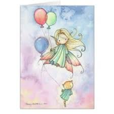 personalised fairy birthday card any name daughter niece