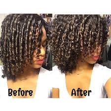 why is my hair curly in front and straight in back finger coils before and after shot finger coiling defines my