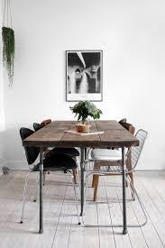 Nordic Home Interiors Plankebord Og Nye Stole Katarina Natalie Wood Table Woods And