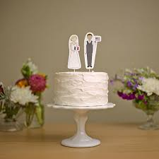 cake toppers for weddings modern wedding cake toppers mywedding