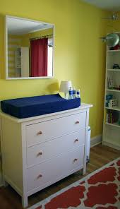 Ikea Hemnes Changing Table Design Reveal Quotlemon Twistquot Nursery Project Nursery For