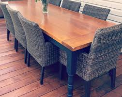 Wood Patio Table Wood Patio Furniture Etsy