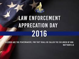Cop Flag Law Enforcement Appreciation Day 2016 Youtube