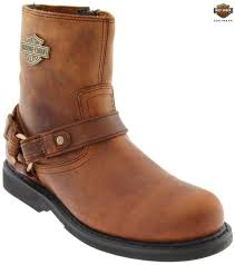 brown motorcycle boots harley davidson men u0027s scout brown harness motorcycle boots