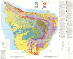 Map Of Washington Coast by Wildly Colorful Geologic Maps Of National Parks And How To Read