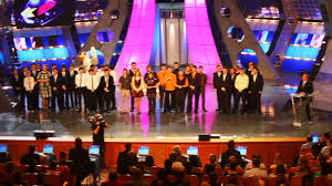 moscow march 28 audience and performers during a taping of kvn