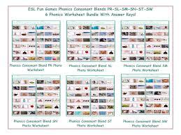 phonics consonant blend sm photo worksheet by eslfungames