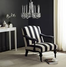 Black And White Striped Accent Chair Mcr4731d Accent Chairs Furniture By Safavieh