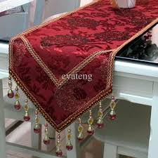 table runner top grade luxury imported velvet table runner w non slip suede
