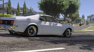 ford mustang 429 1969 1969 ford mustang 429 add on replace gta5 mods com