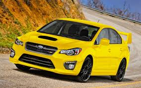 yellow subaru wrx the future of performance cars motor trend
