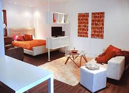 One Bedroom Apartment Plans Studio Apartment Ideas Adorable Ideas Studio Apartment With Big