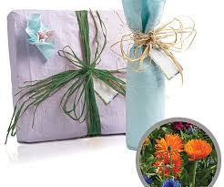 mylar wrapping paper flower seed wrapping paper