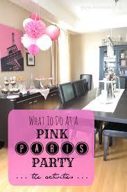 birthday decor ideas at home interior design simple paris themed birthday party decorations