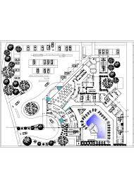 3 star hotel lodging hotel 2d dwg plan for autocad u2022 designscad