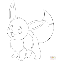 eevee coloring pages to print www bloomscenter com