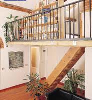 ringhiera soppalco con il soppalco una casa su due piani in sicurezza tecnologia