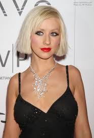 hair under ears cut hair christina aguilera platinum blonde hair in a straight just under