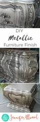 best 25 metallic furniture ideas on pinterest silver painted