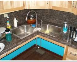 Kitchen Design With Corner Sink Chic And Trendy Corner Kitchen Sink Designs Corner Kitchen Sink