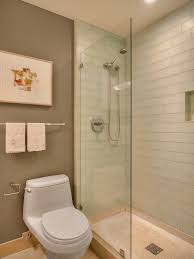 glass tile for bathrooms ideas glass subway tile shower bathroom contemporary with none