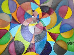 imagenes abstractas con circulos talleres con carmina rabo de lagartija
