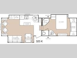 everest rv floor plans used 2004 keystone rv everest 323k fifth wheel at general rv
