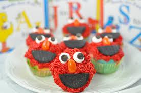 elmo cupcakes simply elmo cupcakes