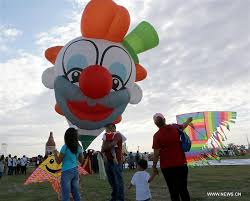 clown balloon l lubao int l balloon and festival held in the philippines