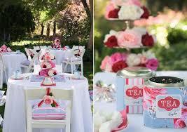 Garden Wedding Idea Pink Blue Roses Tea Garden Wedding Ideas The Sweetest