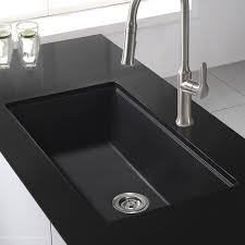 Kitchen Sink Black Kraus 30 X 17 Undermount Kitchen Sink With Drain Assembly