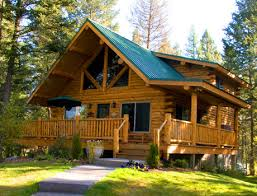 small cabin home montana log cabins amish built meadowlark log homes