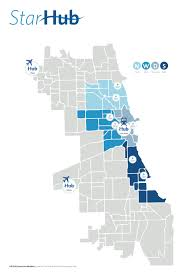 Chicago Ord Airport Map by Star Hub U2014 Yang Cheng Hsiang