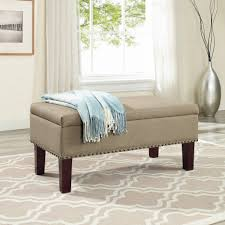 ottomans large storage ottoman square storage ottoman with tray
