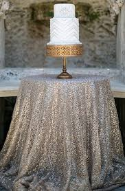 Table Linen Complete Event Hire Sequin Cake Table Cloth Silver Event Decor Hire Chair Covers
